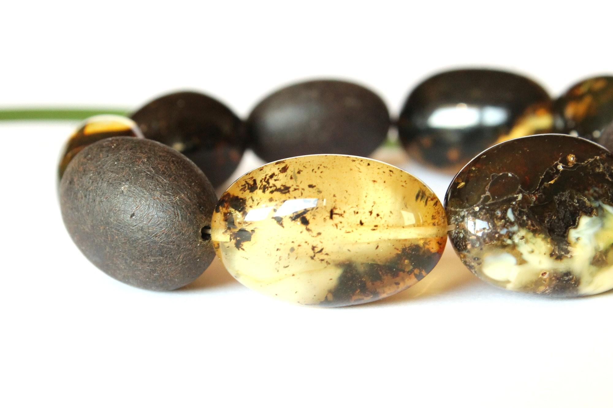 Fashion dark amber bracelet...
