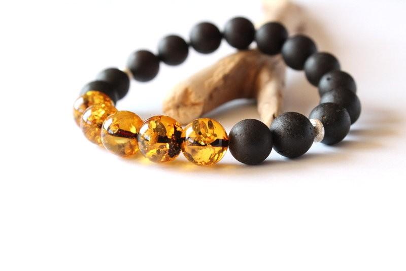 Amber men bracelets, amber...