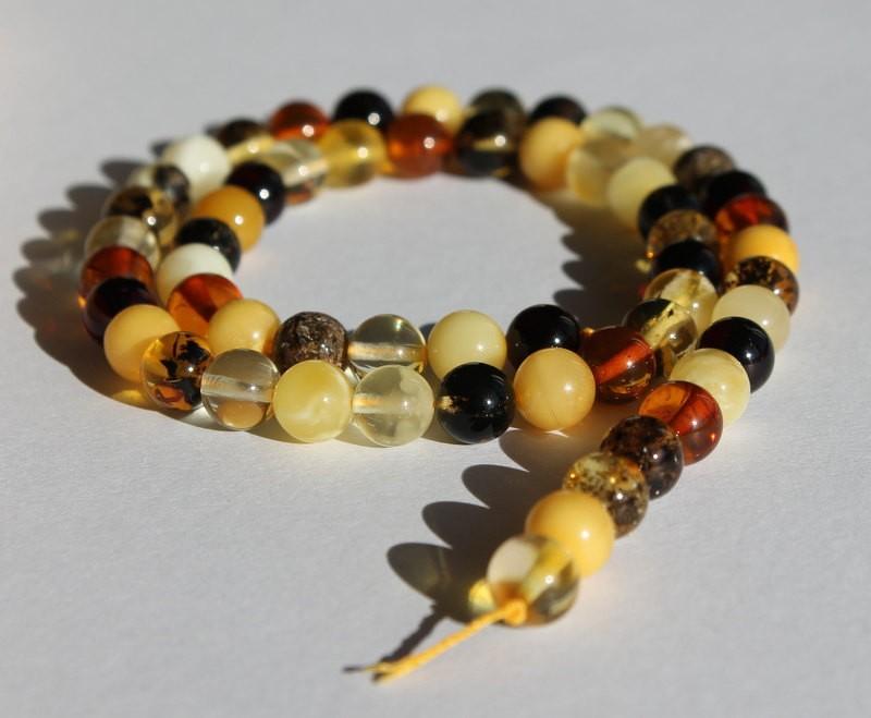 Amber strand, natural...