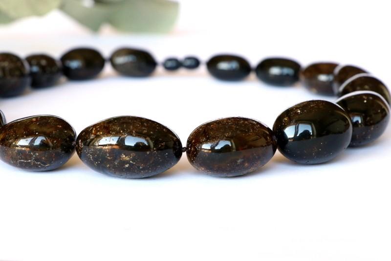 Large black olive stone...